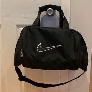 Black Nike gym bag